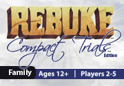 Ad for REBUKE: Compact Trials Edition