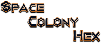 Space Colony Hex Logo