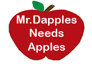 Ad for Mr. Dapples Needs Apples
