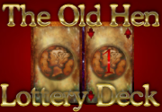 Ad for The Old Hen Power of Mercury Lottery Deck
