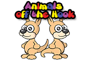 Ad for Animals off the Hook