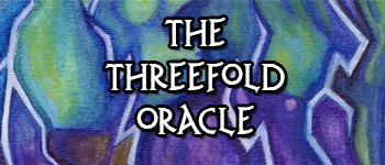 The Threefold Oracle Logo