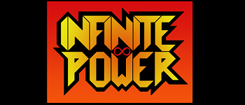 Infinite Power Superhuman Combat Card Game Logo