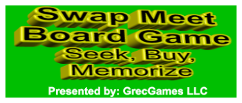 Swap Meet Board Game Logo