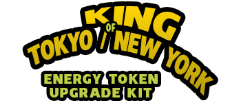 King of Tokyo/New York - Energy Upgrade Kit Logo