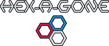 HEX-A-GONE Logo