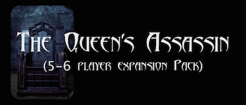 The Queen's Assassin (5-6 player Expansion) Logo