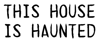 This House is Haunted Logo