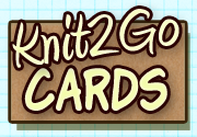 Ad for Knit2Go Cards