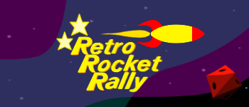 Retro Rocket Rally Logo