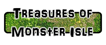 Treasures of Monster Isle Logo