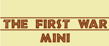 The First War Mini Logo