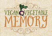 Ad for Vegan Vegetable Memory Game