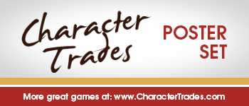 Character Trades - Poster Set (PDF Download) Logo