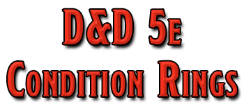 D&D 5e Condition Rings (chipboard)