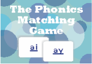 Ad for The Phonics Matching Game