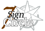 Ad for 7 Sign Circle