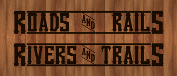 Roads & Rails, Rivers & Trails Logo