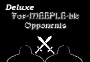 Ad for For-meeple-ble Opponents Deluxe