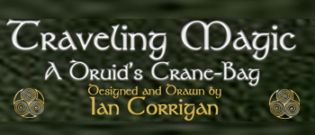 Traveling Magic; A Celtic Temple Kit Logo