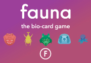 Ad for Fauna: The bio-card game