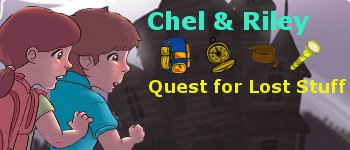 Chel & Riley's Quest for Lost Stuff Logo