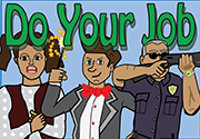 Ad for Do Your Job