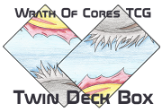 Ad for Deck of Honour & Death [Wrath Of Cores] Homemade TCG