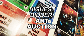 Highest Bidder: Art Auction Logo