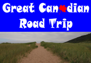 Ad for Great Canadian Road Trip
