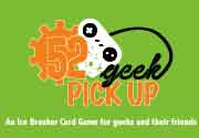 Ad for 52 Geek Pickup