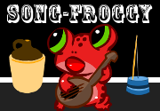 Ad for Song-Froggy