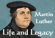 Ad for Martin Luther, Life and Legacy