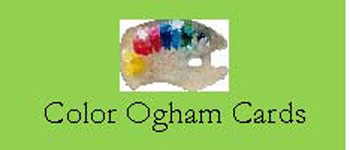 The Color Ogham Cards Logo