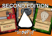 Ad for STOOPID The card game