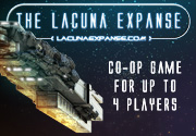 Ad for Lacuna Expanse: A New Empire