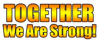Together We Are Strong Logo
