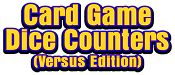 Card Game Dice Counters (Versus Edition) Logo