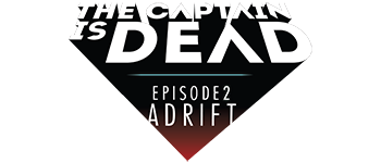The Captain is Dead - Adrift Logo