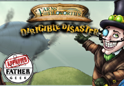 Ad for Farns Filoworth's Dirigible Disaster