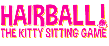 Hairball! - The Kitty Sitting Card Game Logo