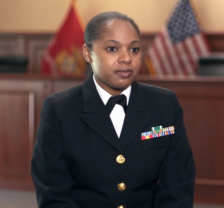 Marine Judge Advocate: Roni Beasley: JAG Officer