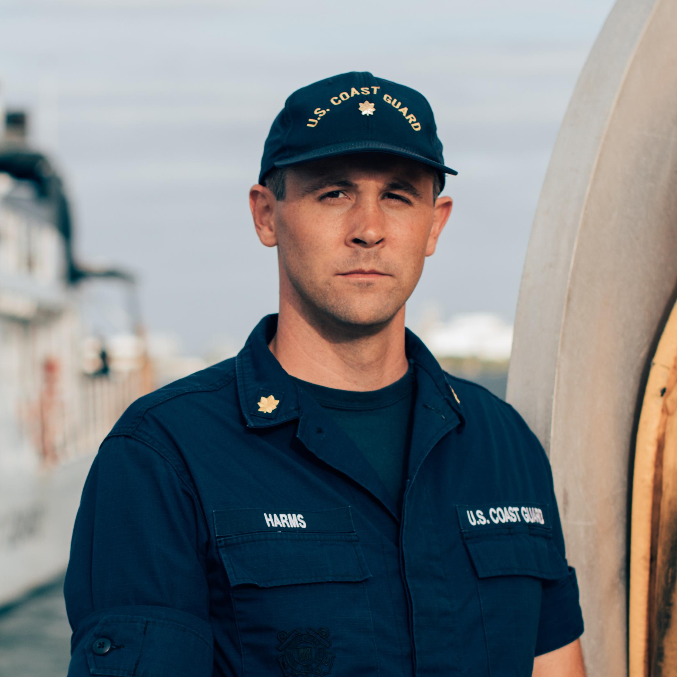 Capitán de corbeta Jesse Harms