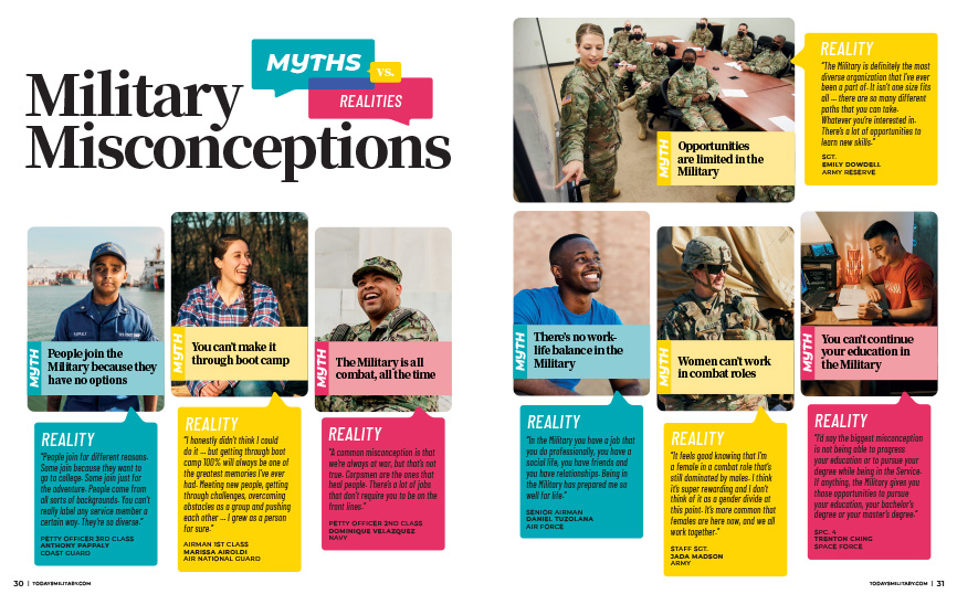 MILITARY MISCONCEPTIONS