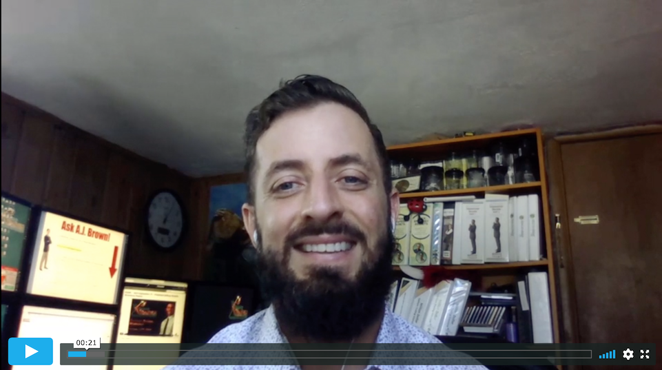 A.J. Brown discusses his preferred broker and trading platform.
