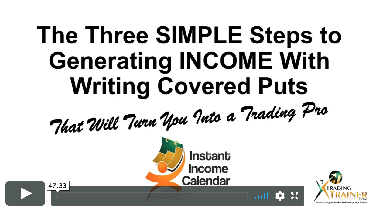 Investor Expos – 3 Simple Steps to Generating Income with Writing Covered Puts