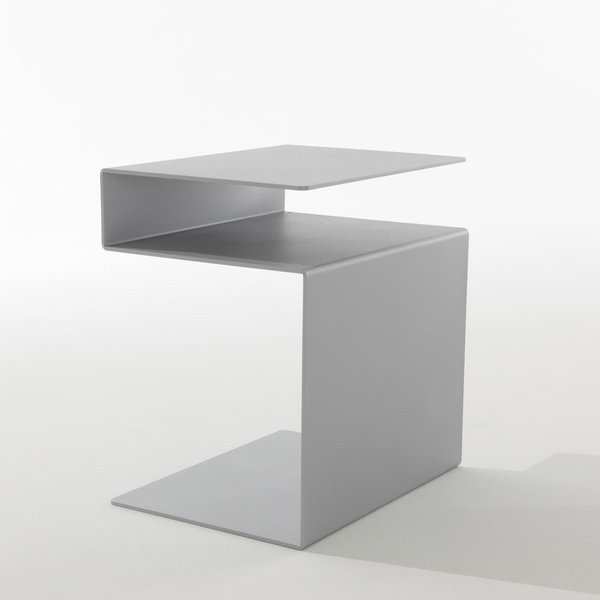 Meuble multi fonctions huk table d appoint tag re for Bout de canape wenge