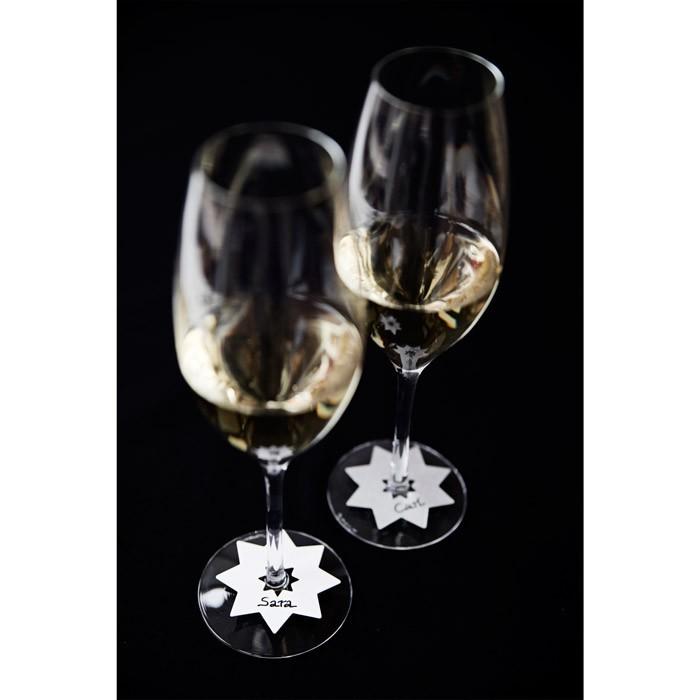Populaire les étiquettes à verres réversibles Mingle ID - LAPADD.com MC47