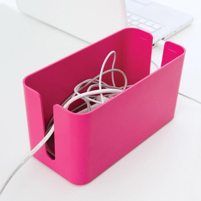 bo te c bles et chargeurs bluelounge cable box mini. Black Bedroom Furniture Sets. Home Design Ideas