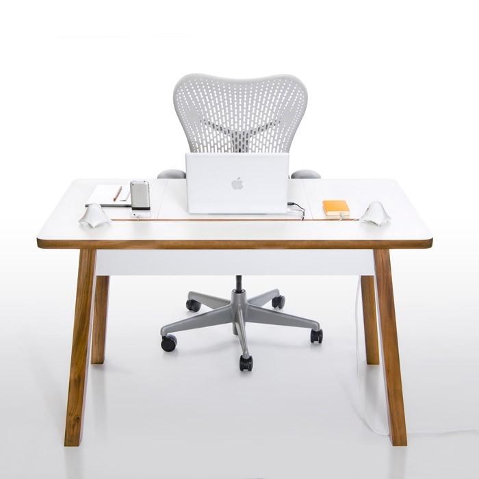 le bureau electro ergonomique studiodesk de bluelounge. Black Bedroom Furniture Sets. Home Design Ideas